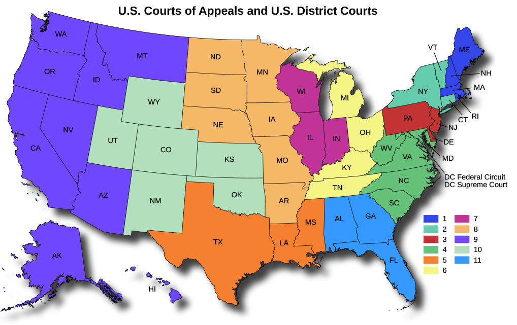OpenStax: American Government | 13.3 The Federal Court System | Top Hat
