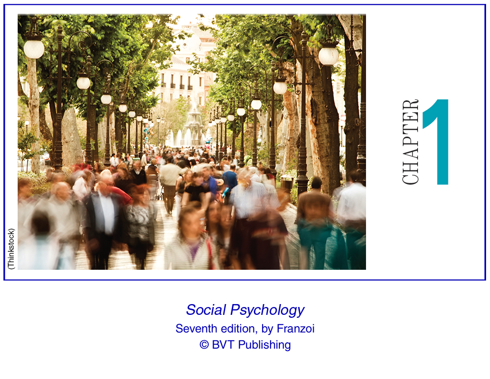 Social Psychology Seventh Edition Reading Assignment